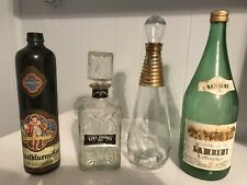 Miscellaneous Assortment Of Vintage Decanters.