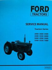 FORD Agricultural Tractors Series 2000 3000 4000 5000 7000 Repair Manual PRINTED
