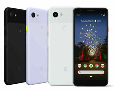 Google Pixel 3a 64GB Unlocked, Verizon, T-Mobile, AT&T (Black/White/Purple)