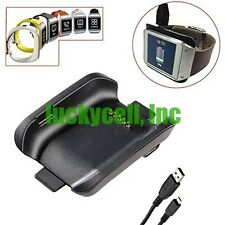 Charging Cradle Smart Watch Black Charger Dock for Samsung Galaxy Gear SM-V700