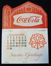 2021 Coca-Cola™ Barn  Peel & Stick 14 Month Dash Calendar NO PRICE INCREASE