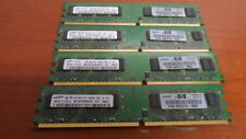 HP DDR2 2GB PC2-6400U 800MHz 240pin 404575-888 (lot of 4)