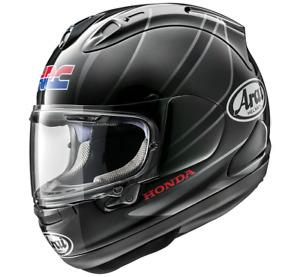 NEU ARAI Helm RX-7V Honda CBR silver Gr. XL 61/62 schwarz silber statt 1049,95€