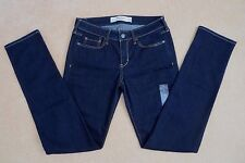 NWT Abercrombie Womens Slim Skinny Jeans Size 2 Dark Wash Pants