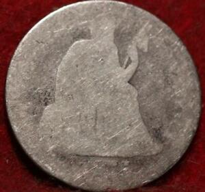 1875-CC Carson City Mint Silver Seated Liberty Dime