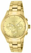 Invicta Women's Angel Quartz Chronograph Gold Dial Watch 12466