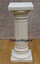 Säule Blumensäule Tisch Design Barock Säulen Antik Stuckgips Deko 1016 Crem