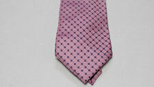 NWT Mens Nautica Dress Suit Tie Necktie Pink Plaid Checked Neat