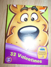 Box of 32 Scooby Doo Mystery Gang Valentine's Day Cards 8 Designs New