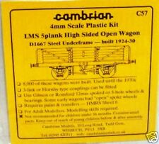 Cambrian C57.LMS 5-Plank High-Sided Open Wagon Kit.(00)