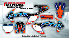 NitroMX Graphic Kit for KTM SX 50 SX50 2016 2017 2018 16 17 18 Decals Motocross