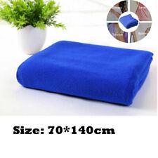 2Pcs Extra Large Microfibre Lightweight Beach Towel Sheet Travel Swimming Sports