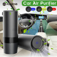 augienb USB Portable Mini Car Air Purifier With Negative Ion Turbine Outlet