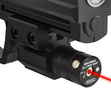 New Pistol Tactical Red Laser Dot Sight Scope Beam Laser Sight Rail Mount Switch