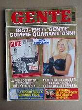 GENTE n°17 1997 Ex Ragazza Ricchi & Poveri Morte Giovannino Agnelli [G739]