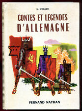CONTES & LEGENDES D'ALLEMAGNE. NATHAN. 1976.