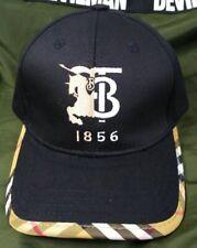 NWT Burberry TB Baseball Hat Black Golf Outdoor Cap Unisex