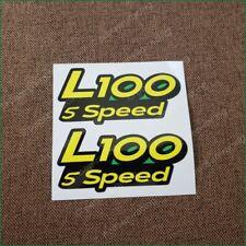 John Deere set of L100 5 speed hood decal GX21154