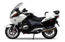 BLITZ VERSAND BMW R1200RT POLICE weiß-schwarz Welly Motorrad Modell 1:18 NEU OVP