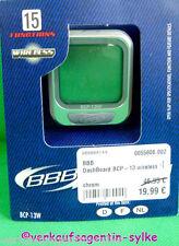 BBB Dash Board BCP-13 wireless Fahrrad Computer in Chrom mit 15 Funktionen. NEU