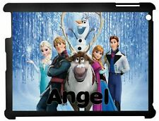 Personalised Kids Disney Frozen Ipad case 2/3/4 & Mini 1/2/3 Mini 4/5 2019