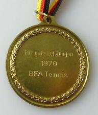 Medaille : Für gute Leistung 1970 BFA Tennis Magdeburg / r 321