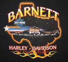 2003 Barnett Harley-Davidson T-Shirt Tee El Paso Texas TX Size XL