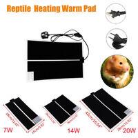 Heat Mat Reptile Brooder Incubator Heating Pad Warm Heater Pet Supply 7W/14W/20W