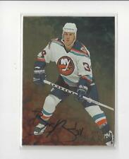1998-99 Be A Player Gold #85 Bryan Berard AUTOGRAPH Islanders