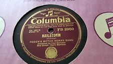 FODEN'S MOTOR WORKS BAND HAILSTORM & SECOND SERENADE COLUMBIA FB2950