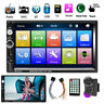 "7"" Car Stereo Radio HD MP5 Player Touch Screen Bluetooth Radio Double 2Din"