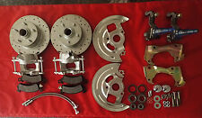 1964 1967 GM A body chevelle disc brake conversion STOCK RIDE HEIGHT ss hoses