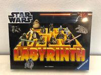 Star Wars Labyrinth von Ravensburger Legespiel Brett Kinder Gesellschafts in OVP