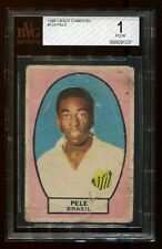 *EXTREMELY RARE* 1966 Crack Campeon PELE BVG 1.0 VERY LOW POP!