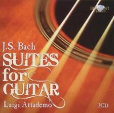 Bach: Suiten für Gitarre von Luigi Attademo (2011) OVP+NEU