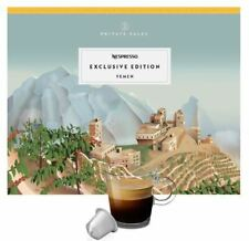 10X NESPRESSO CAPSULES - YEMEN - EXCLUSIVE LIMITED EDITION 2020 - VERY LIMITED
