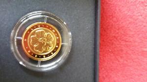 BRD - 50 Euro Gold - Lutherrose - 2017 D - 1/4 Unze Gold 999,9 - inkl. OVP