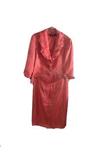 Kasper Skirt Suit Size 18 Pink