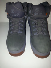 MEN'S TIMBERLAND EUROHIKER BOOTS;FLUME;LEATHER;GREY;SIZE12;STYLE TB0A11V8 M/M