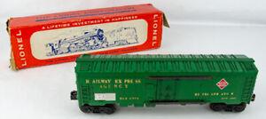 Original Vintage Postwar Lionel 6572 Railway Express Agency Reefer Car