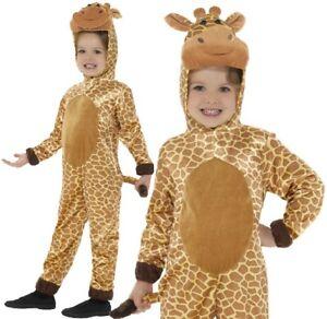Childs Giraffe Fancy Dress Costume Kids Book Day Animal Suit by Smiffys
