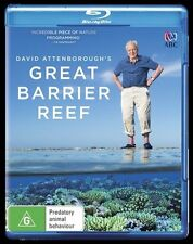 David Attenborough - Great Barrier Reef (Blu-ray, 2016)  New, ExRetail Stock D83
