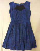 Women's Ladies Designer Jane Norman Skater Dress Size 12
