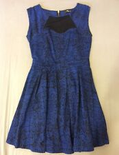 Women's Ladies Designer Jane Norman Skater Dress Size 12