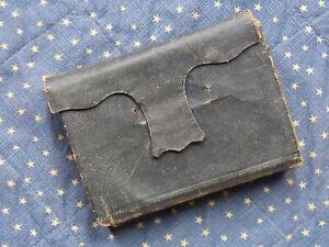 Civil War era 1860 wallet style bible. American Bible Society.