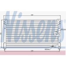 Nissens Kondensator, Klimaanlage Honda Accord V. Rover 600 94362
