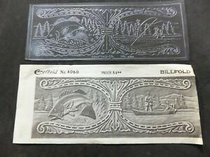 Vintage Leather Billfold Craftaid #4060 By Al Stohlman.