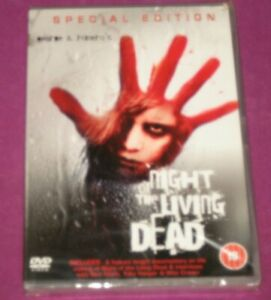 NIGHT OF THE LIVING DEAD - GEORGE A.ROMERO'S CLASSIC DVD /SPECIAL EDITION SEALED