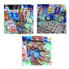 100 teile Kaufladenzubehör Kaufladen Kinderküche Kaufmannsladen Zubehör