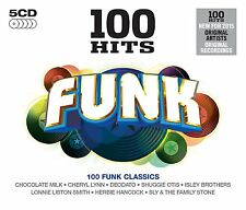 100 HITS ~ FUNK CLASSICS NEW & SEALED 5CD BOX SET ORIGINAL ARTISTS / RECORDINGS